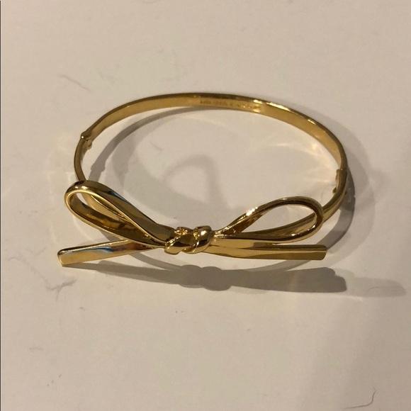 fbb401c9727a5 Kate Spade Gold Bow Bracelet